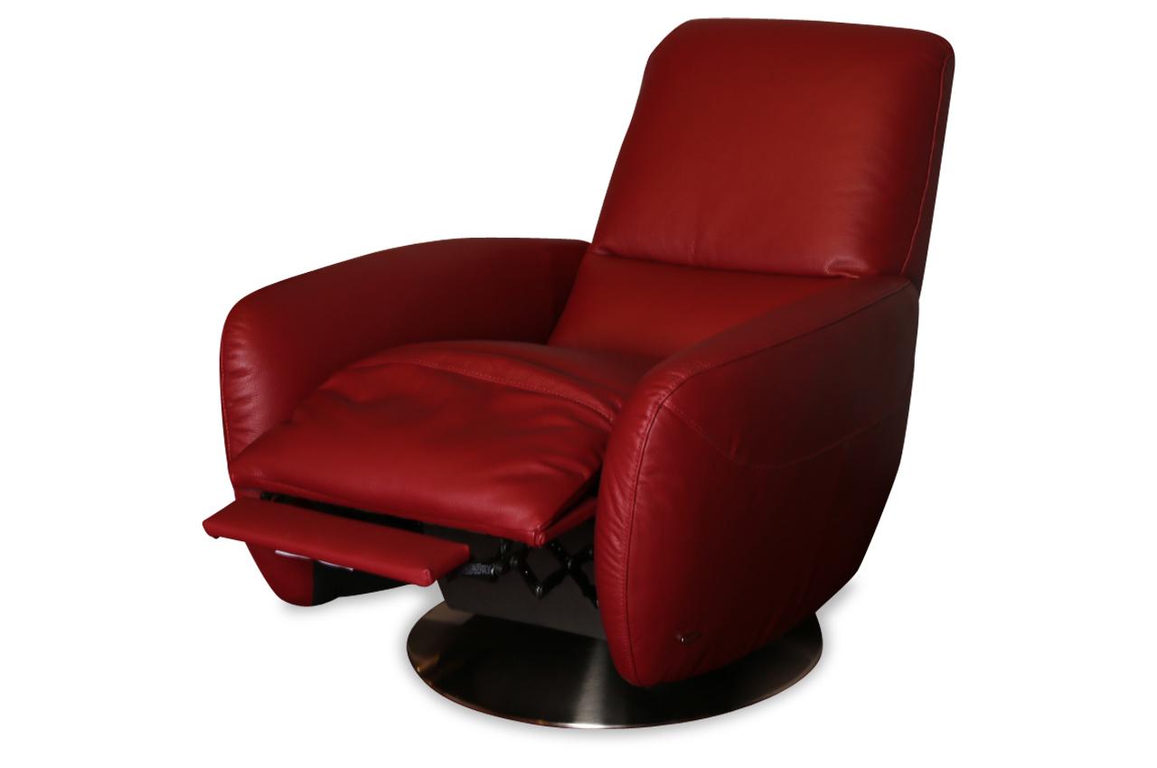 furntrade leder sessel z847 mit relax rot sofas zum halben preis. Black Bedroom Furniture Sets. Home Design Ideas