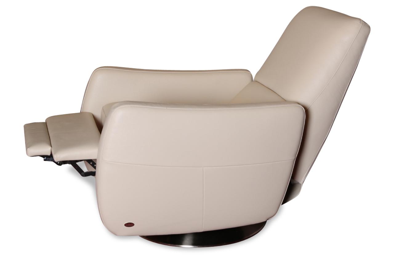 furntrade leder fernsehsessel z843 mit relax creme. Black Bedroom Furniture Sets. Home Design Ideas