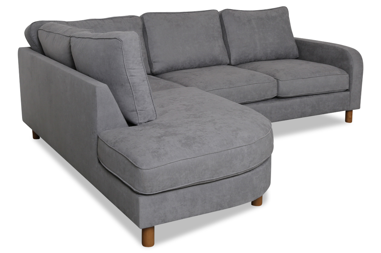 erelita ecksofa xl anneli grau sofas zum halben preis. Black Bedroom Furniture Sets. Home Design Ideas