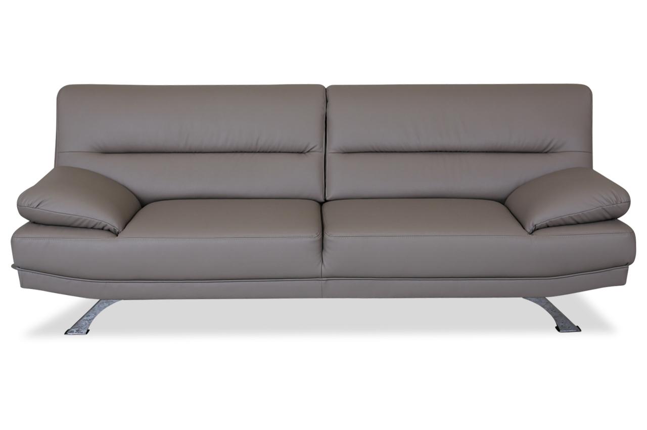 leder 2er sofa bruno braun sofas zum halben preis. Black Bedroom Furniture Sets. Home Design Ideas
