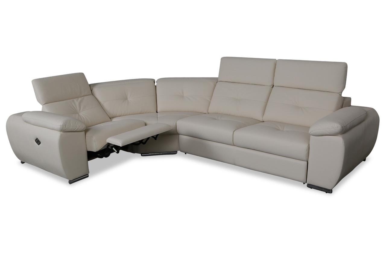 aek rundecke martin mit relax und schlaffunktion creme. Black Bedroom Furniture Sets. Home Design Ideas