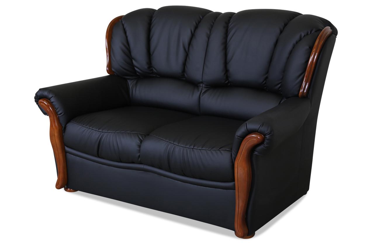 furntrade 2er sofa diva corteccia schwarz sofas zum halben preis. Black Bedroom Furniture Sets. Home Design Ideas