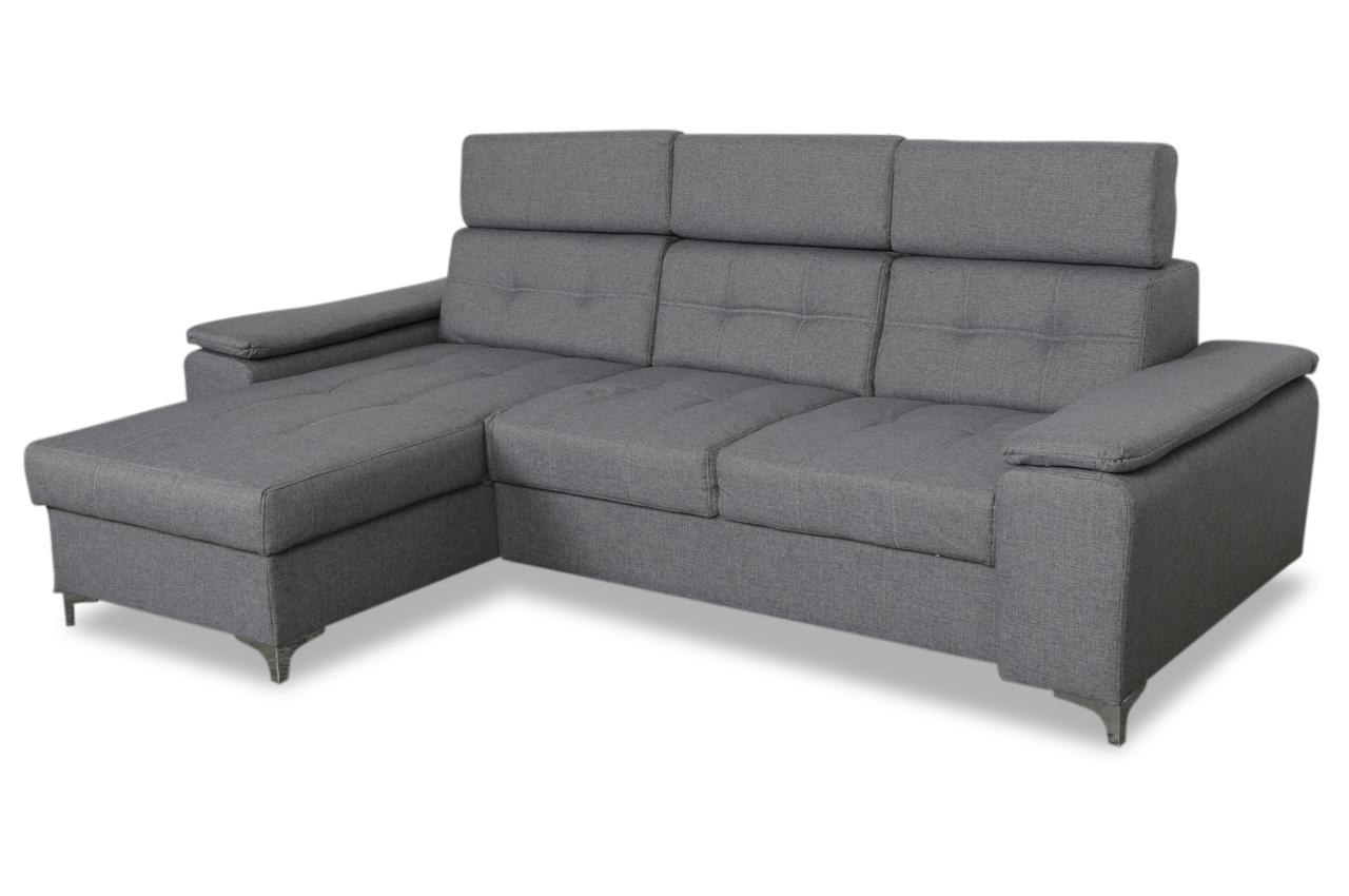 Emilia ecksofa caro grau sofas zum halben preis for Ecksofa caro