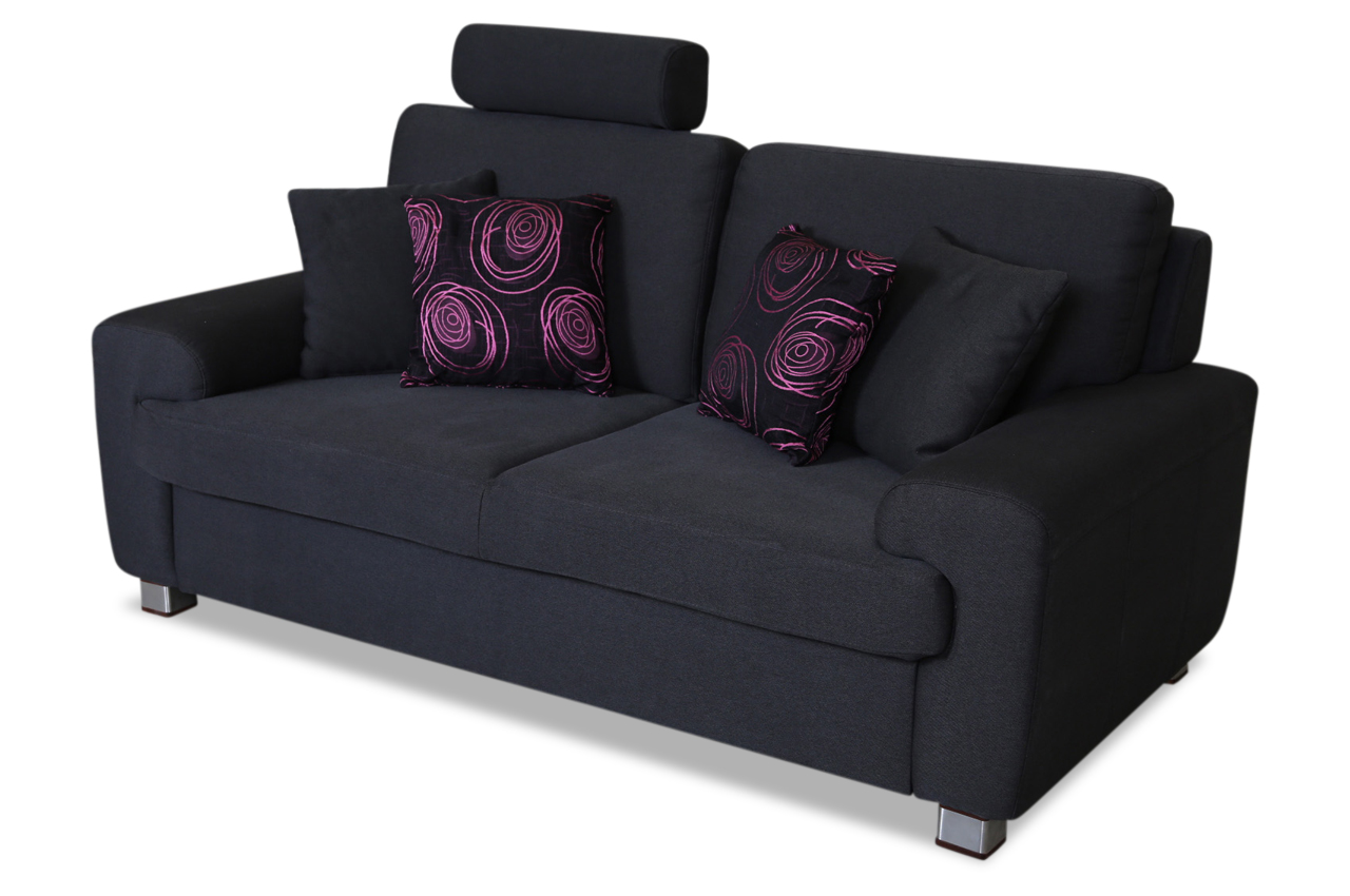 2er sofa plaza anthrazit sofas zum halben preis for Sofa anthrazit