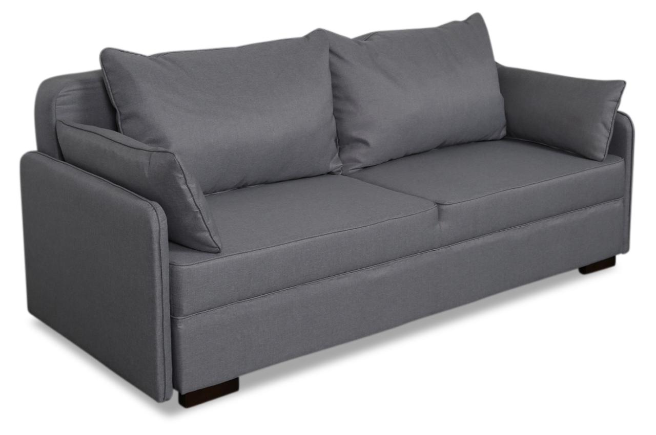wozniak 3er sofa norman 3 mit schlaffunktion grau sofas zum halben preis. Black Bedroom Furniture Sets. Home Design Ideas