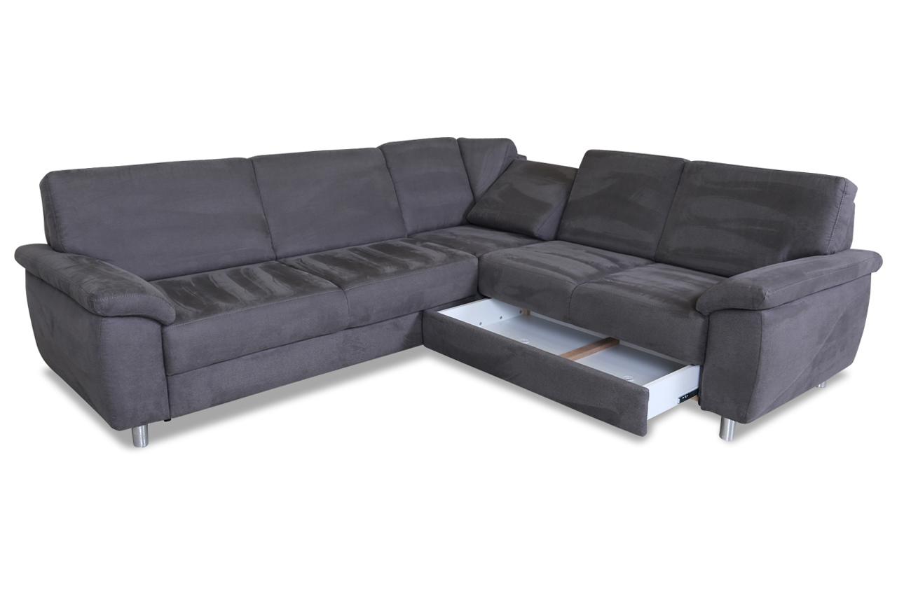 rundecke mit relax und schlaffunktion grau sofas zum halben preis. Black Bedroom Furniture Sets. Home Design Ideas
