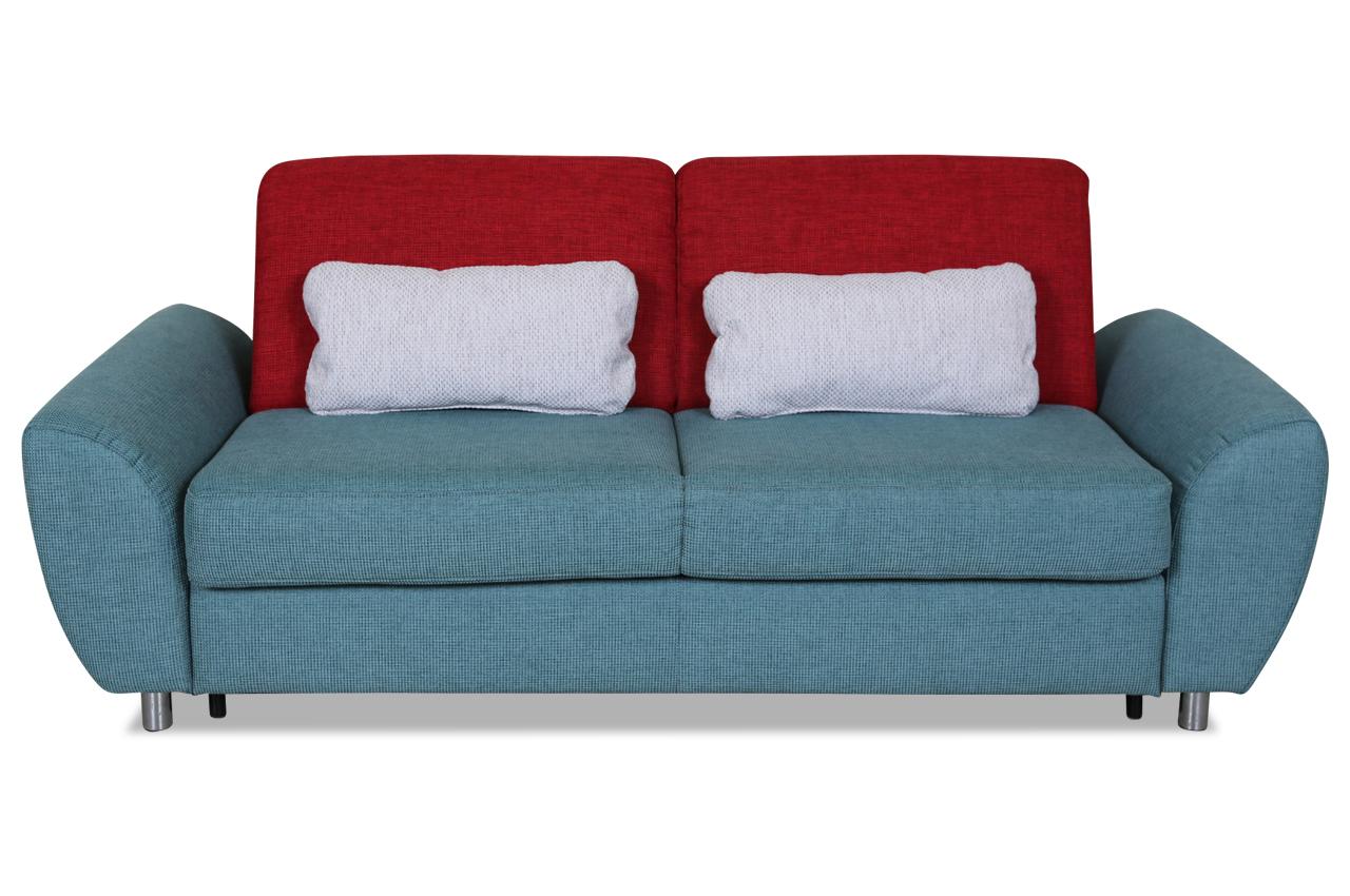 furntrade 3er sofa toplita mit schlaffunktion rot sofas zum halben preis. Black Bedroom Furniture Sets. Home Design Ideas