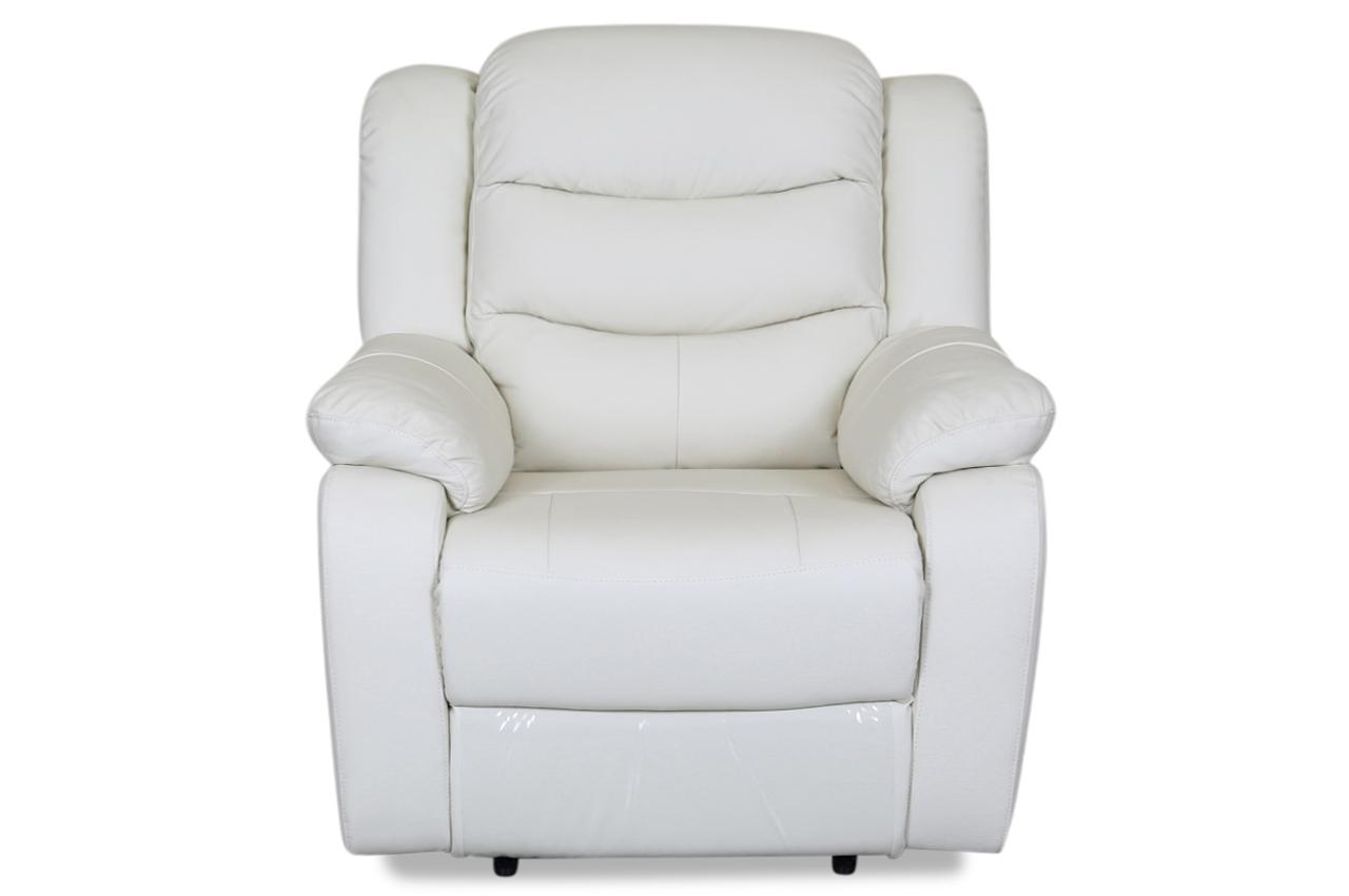 aek leder sessel 30772 mit relax weiss sofas zum halben preis. Black Bedroom Furniture Sets. Home Design Ideas