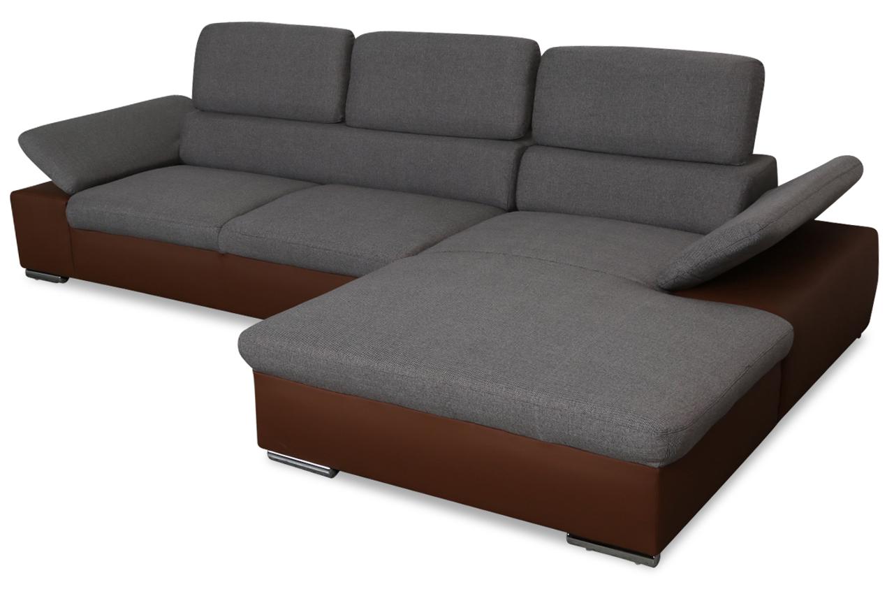 redam ecksofa alcudia anthrazit sofas zum halben preis. Black Bedroom Furniture Sets. Home Design Ideas