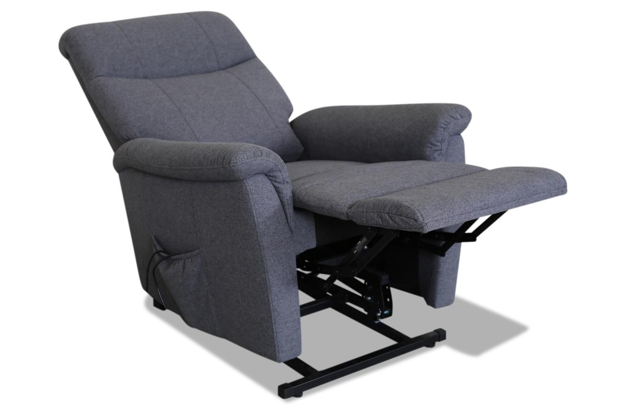 htl international fernsehsessel a 117 grau sofas zum. Black Bedroom Furniture Sets. Home Design Ideas