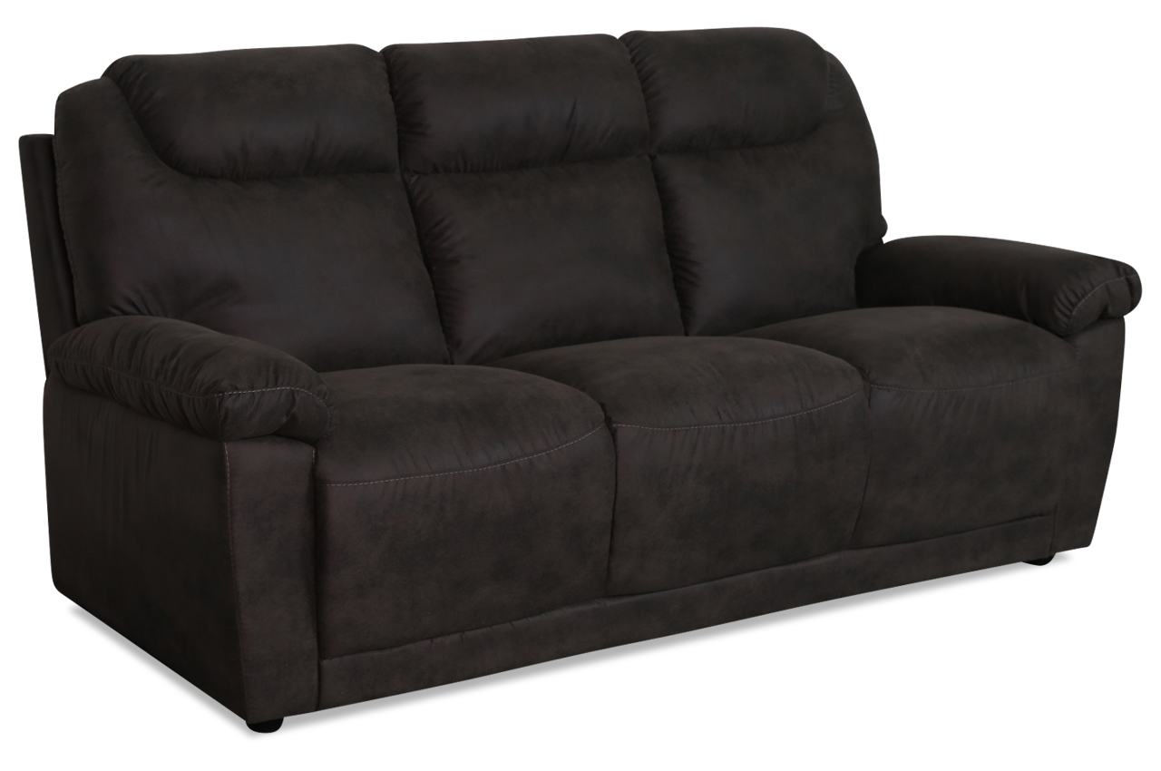 furntrade 3er sofa u236 braun mit federkern sofas zum halben preis. Black Bedroom Furniture Sets. Home Design Ideas