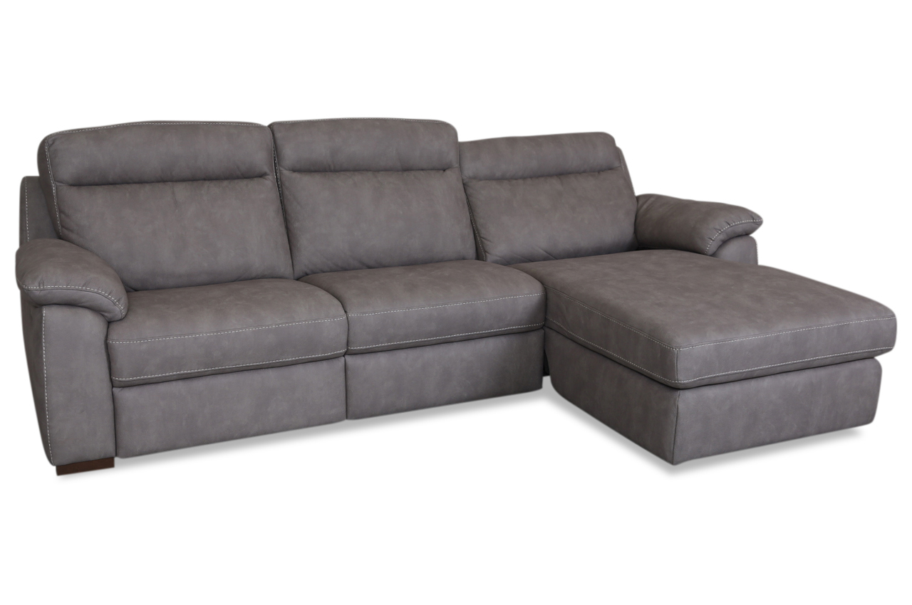 furntrade ecksofa u210 grau mit federkern sofas zum halben preis. Black Bedroom Furniture Sets. Home Design Ideas
