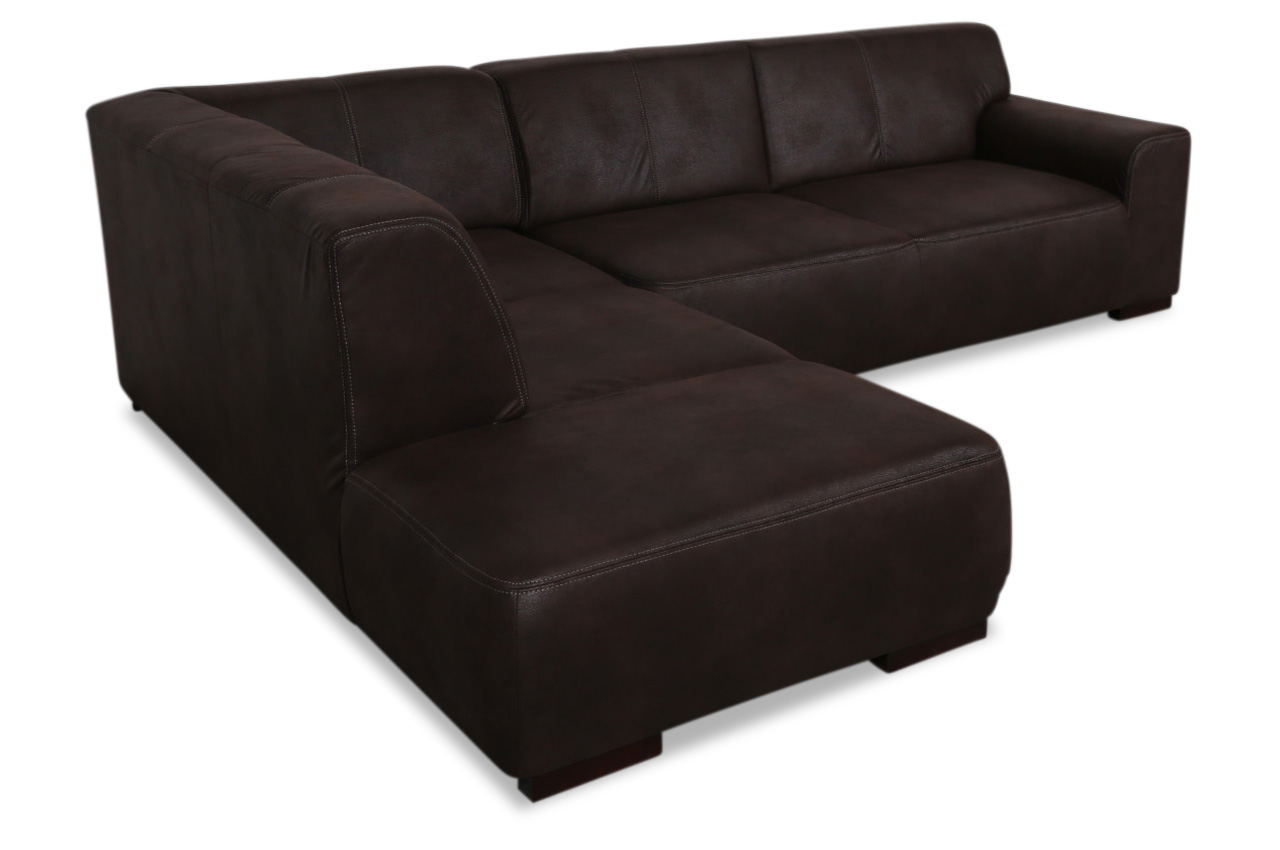 redam ecksofa xl laredo braun sofas zum halben preis. Black Bedroom Furniture Sets. Home Design Ideas