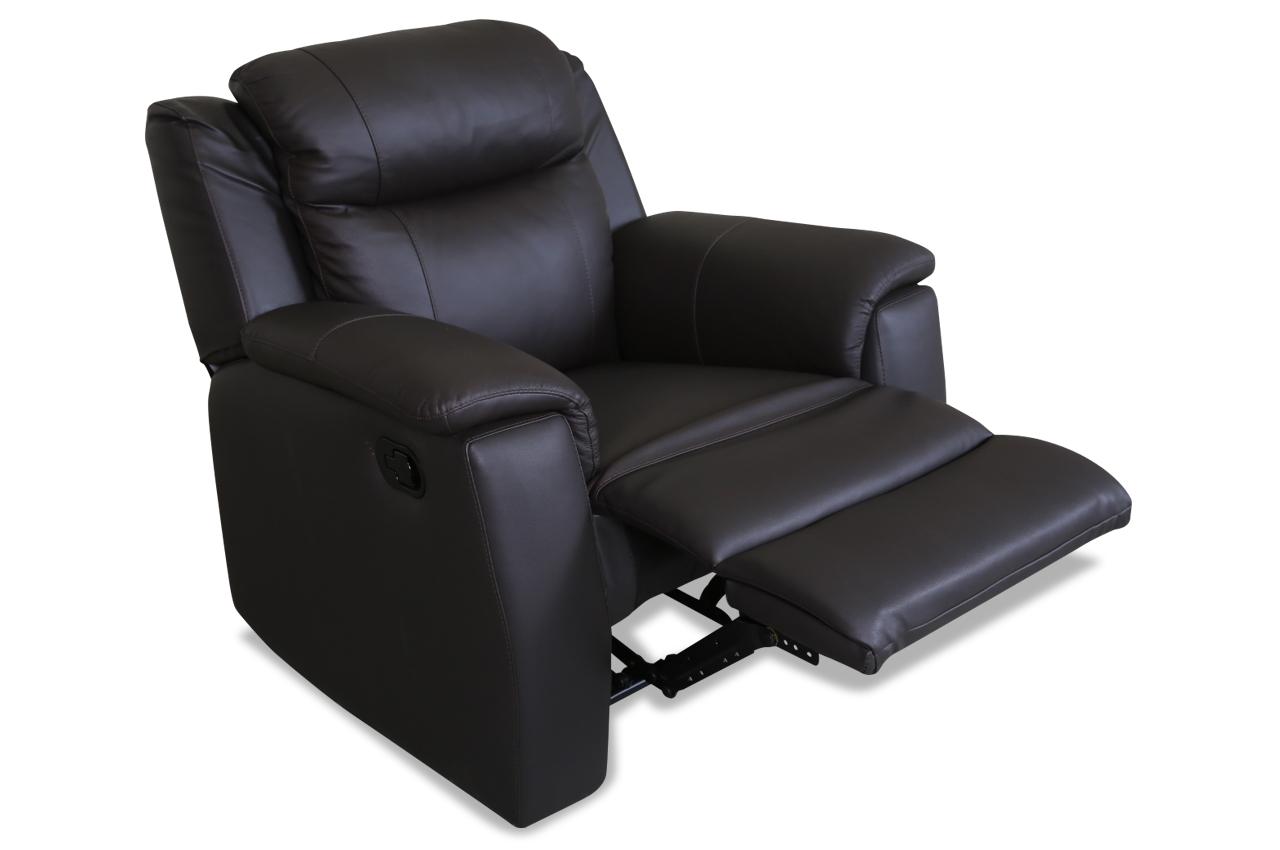 aek leder sessel evas mit relax braun sofas zum halben preis. Black Bedroom Furniture Sets. Home Design Ideas