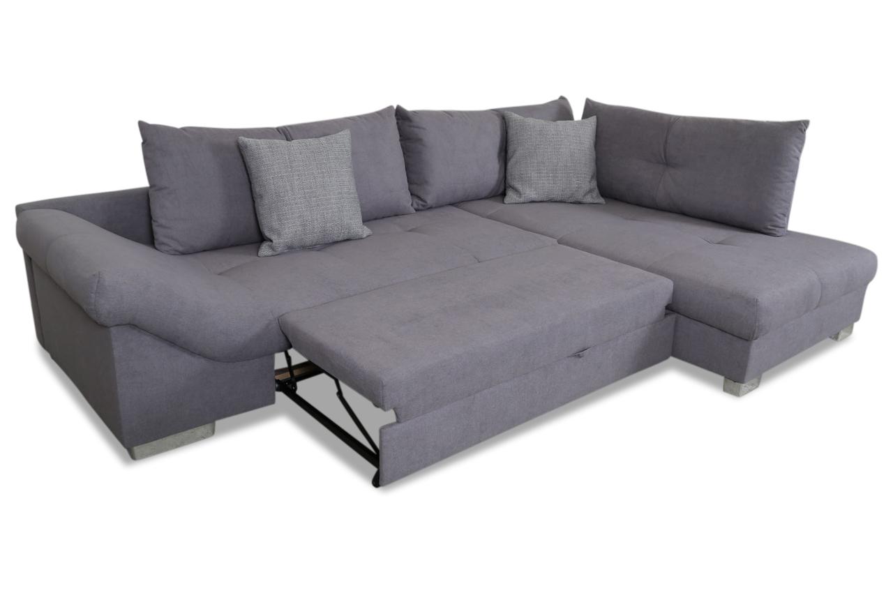 ecksofa xl gabriel mit schlaffunktion grau sofas zum. Black Bedroom Furniture Sets. Home Design Ideas