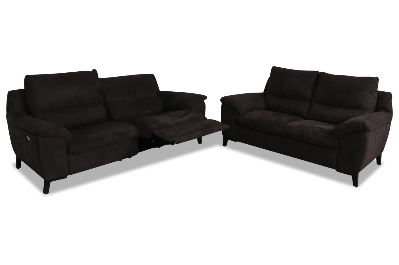furntrade leder garnitur 3 2 u226 braun mit federkern. Black Bedroom Furniture Sets. Home Design Ideas