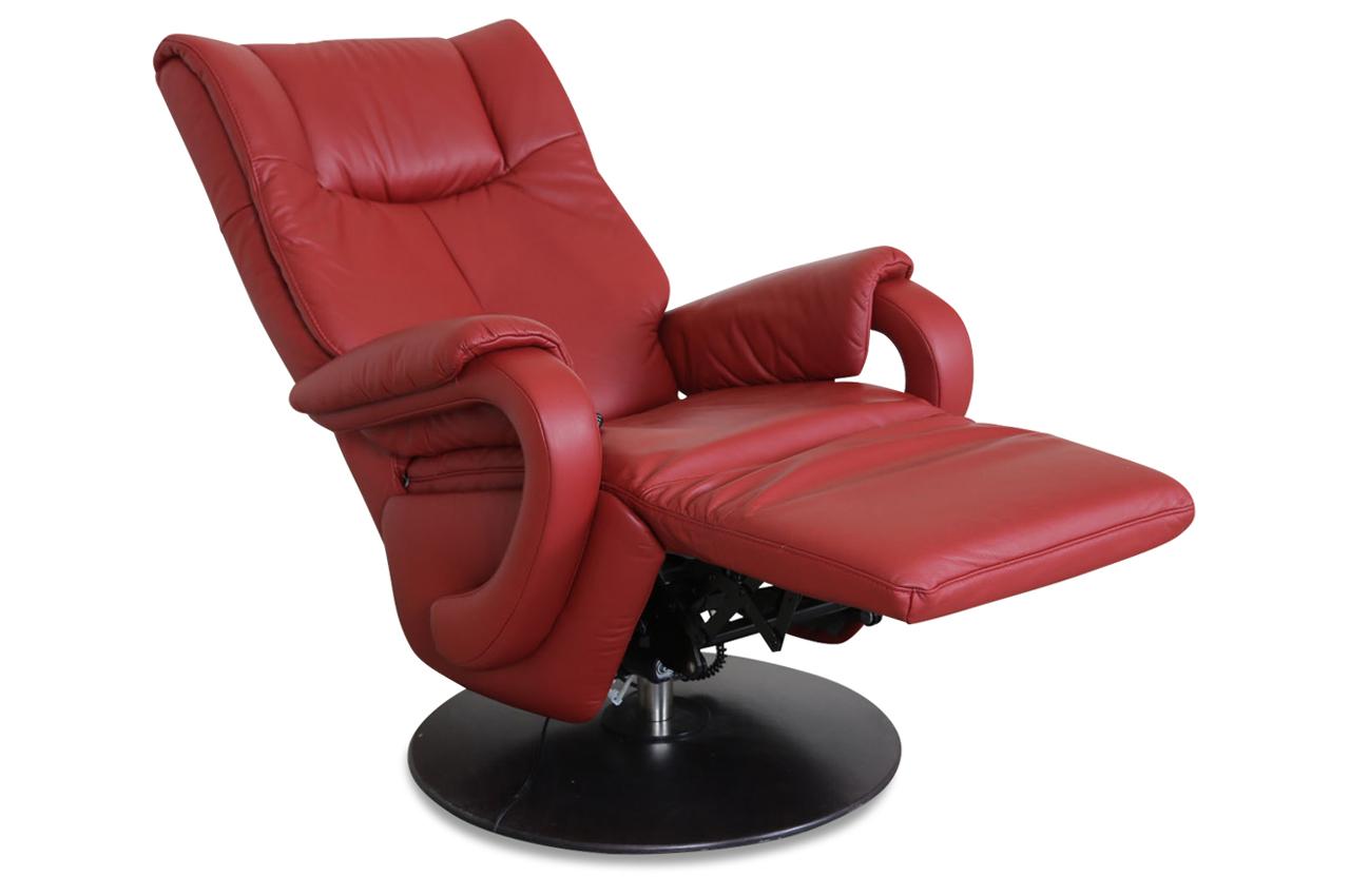 leder fernsehsessel rot sofas zum halben preis. Black Bedroom Furniture Sets. Home Design Ideas