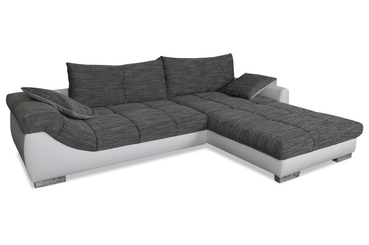 Ecksofa vincent grau sofas zum halben preis for Ecksofa 2 00