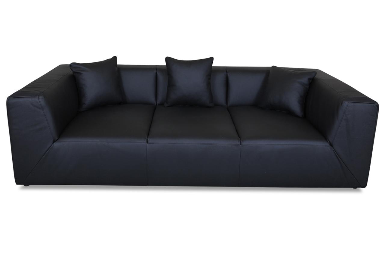 calia italia leder bigsofa luis schwarz sofas zum halben preis. Black Bedroom Furniture Sets. Home Design Ideas