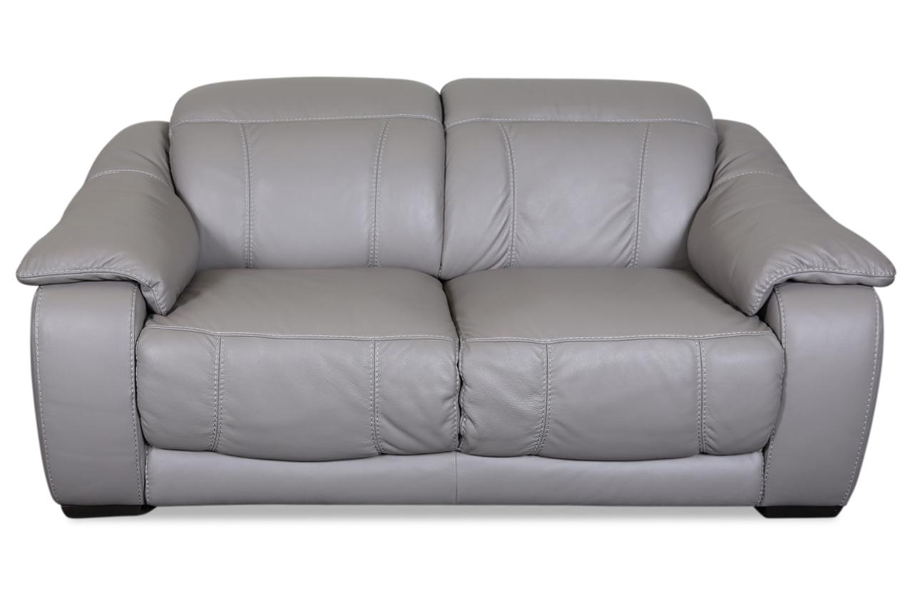 furntrade leder 2er sofa u076 braun mit federkern sofas zum halben preis. Black Bedroom Furniture Sets. Home Design Ideas