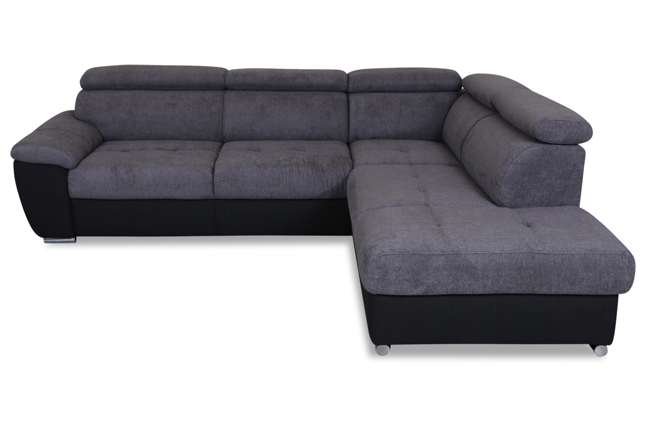 ecksofa xl schwarz sofas zum halben preis. Black Bedroom Furniture Sets. Home Design Ideas