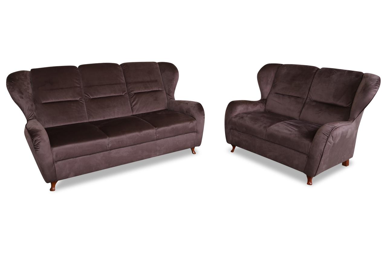 furntrade garnitur 3 2 firenze braun sofas zum halben. Black Bedroom Furniture Sets. Home Design Ideas