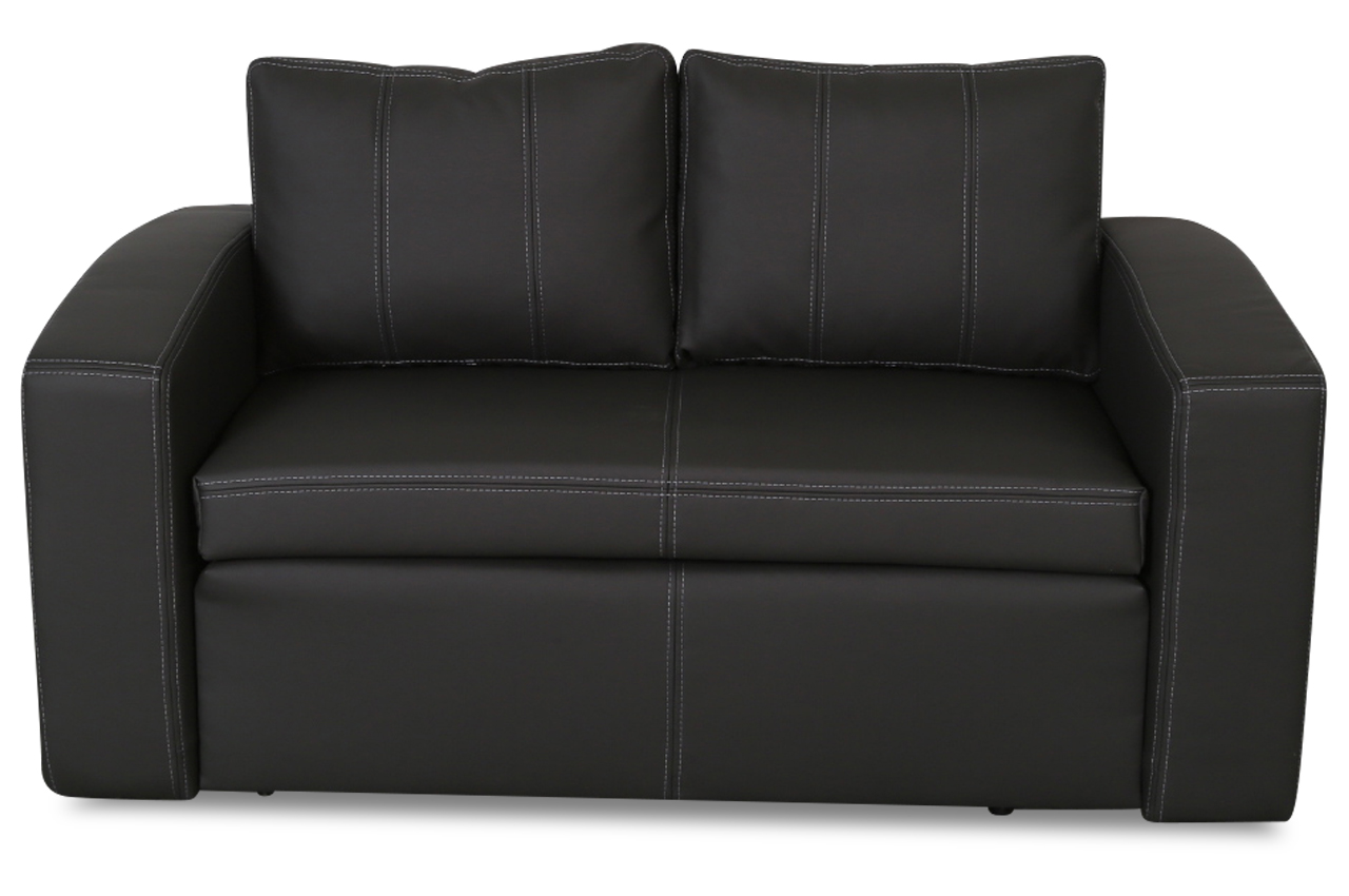 furntrade 2er sofa nils mit schlaffunktion grau sofas zum halben preis. Black Bedroom Furniture Sets. Home Design Ideas