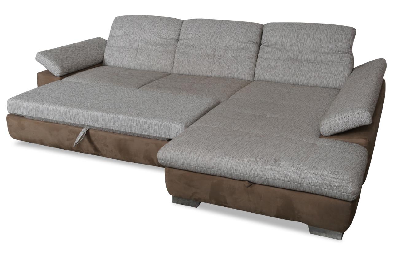 cotta ecksofa sunshine mit schlaffunktion braun sofas zum halben preis. Black Bedroom Furniture Sets. Home Design Ideas