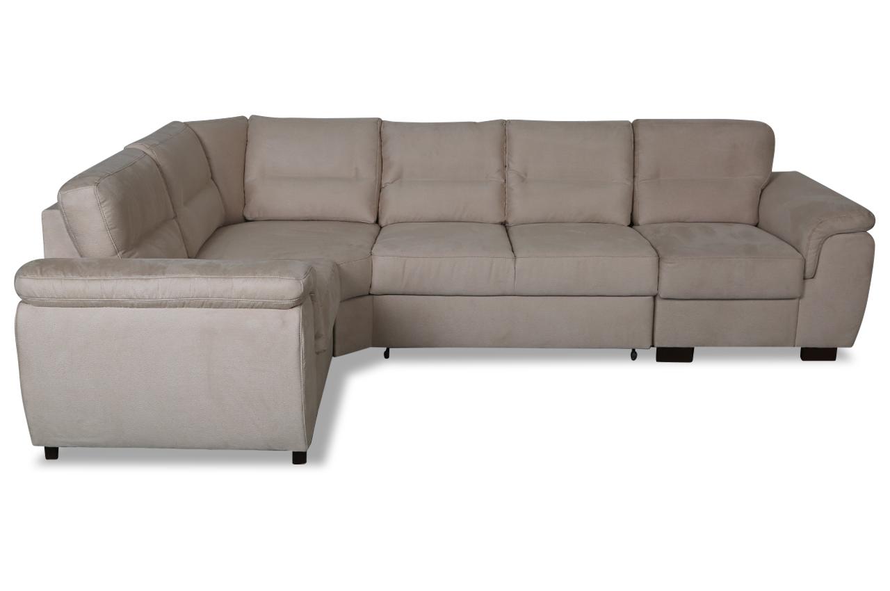 rundecke blues mit schlaffunktion braun sofas zum halben preis. Black Bedroom Furniture Sets. Home Design Ideas