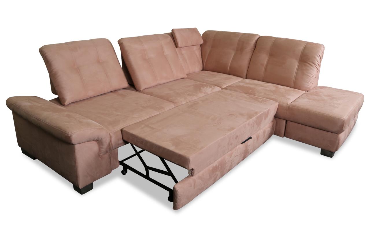 furntrade ecksofa xl tim mit relax und schlaffunktion braun mit federkern ecksofas sofas. Black Bedroom Furniture Sets. Home Design Ideas