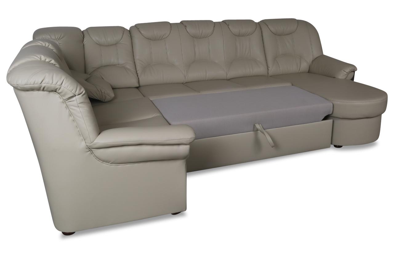 wohnlandschaft linus mit relax und schlaffunktion creme sofas zum halben preis. Black Bedroom Furniture Sets. Home Design Ideas