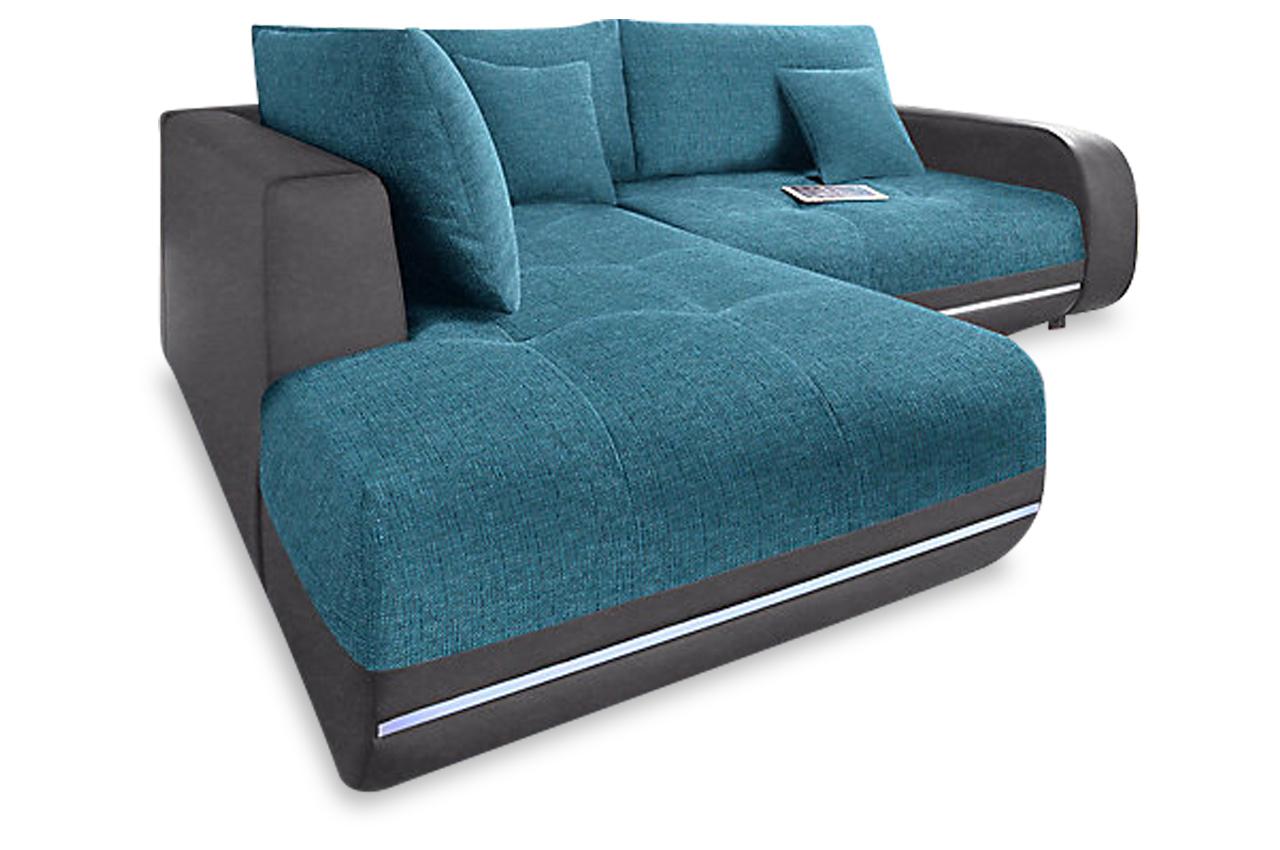 castello ecksofa xl music sofa blau sofas zum halben preis. Black Bedroom Furniture Sets. Home Design Ideas