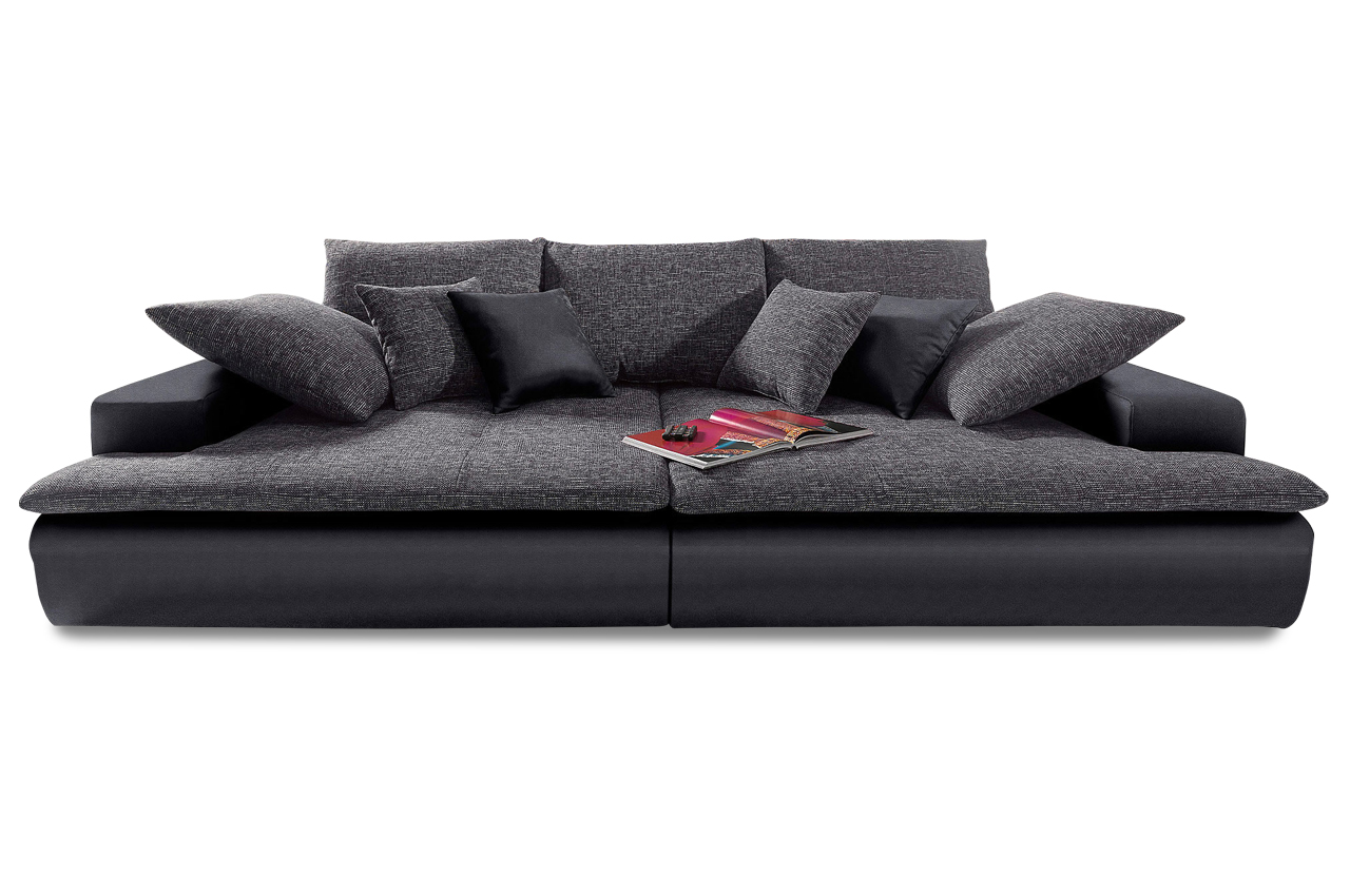 bigsofa haiti 260 schwarz sofas zum halben preis. Black Bedroom Furniture Sets. Home Design Ideas