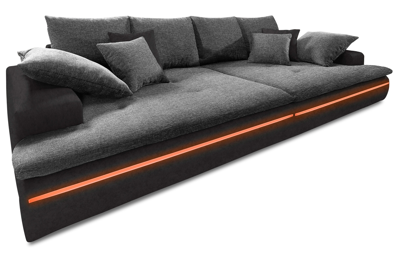 bigsofa haiti mit led sofas zum halben preis. Black Bedroom Furniture Sets. Home Design Ideas
