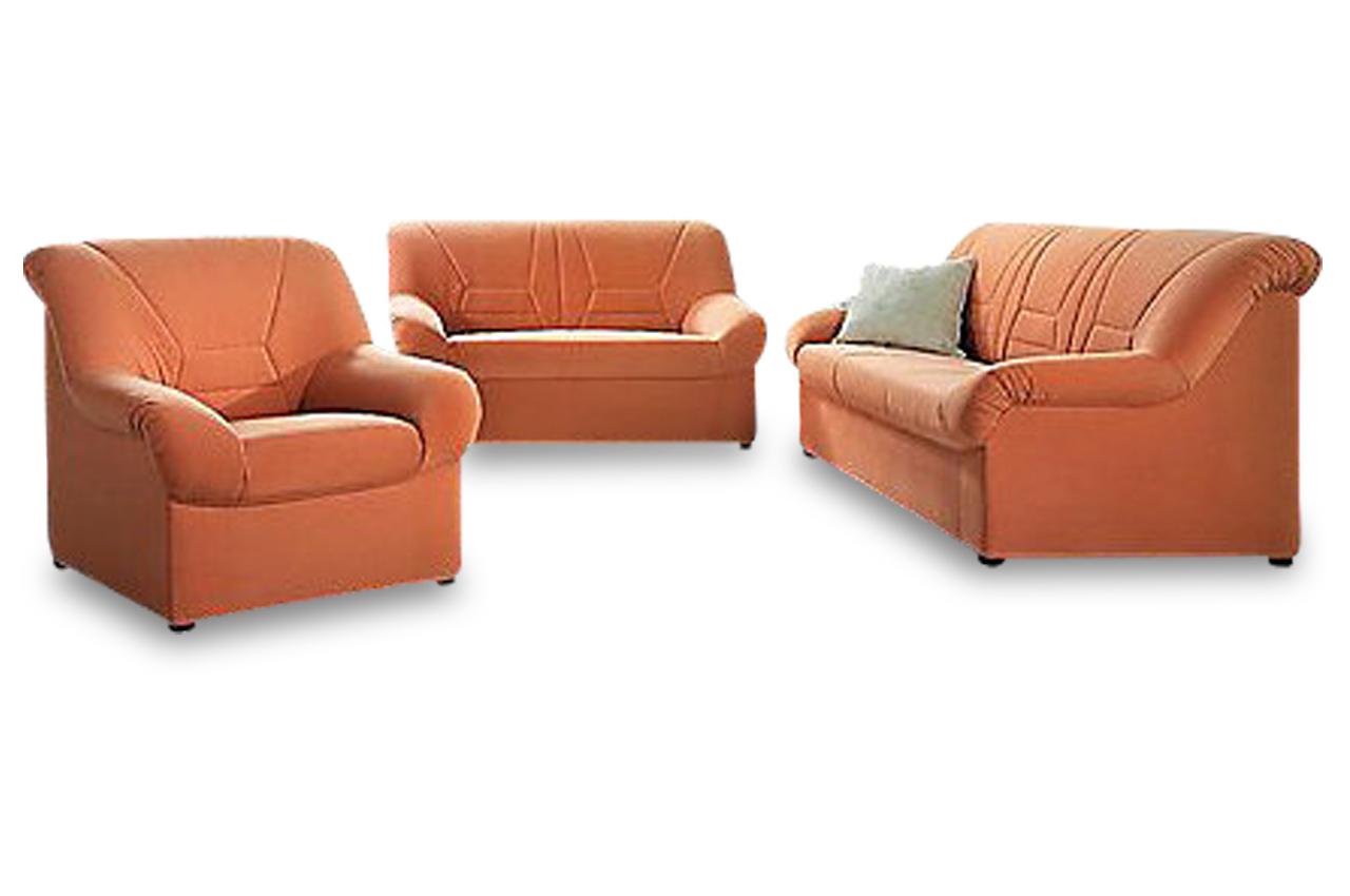 garnitur 3 2 1 neuss orange sofas zum halben preis. Black Bedroom Furniture Sets. Home Design Ideas