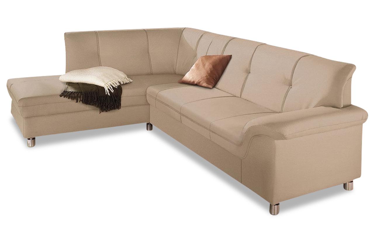 ecksofa xl dole creme sofas zum halben preis. Black Bedroom Furniture Sets. Home Design Ideas