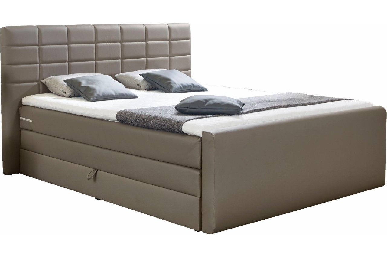 sofa team boxspringbett 160x200 lethbridge creme sofas. Black Bedroom Furniture Sets. Home Design Ideas