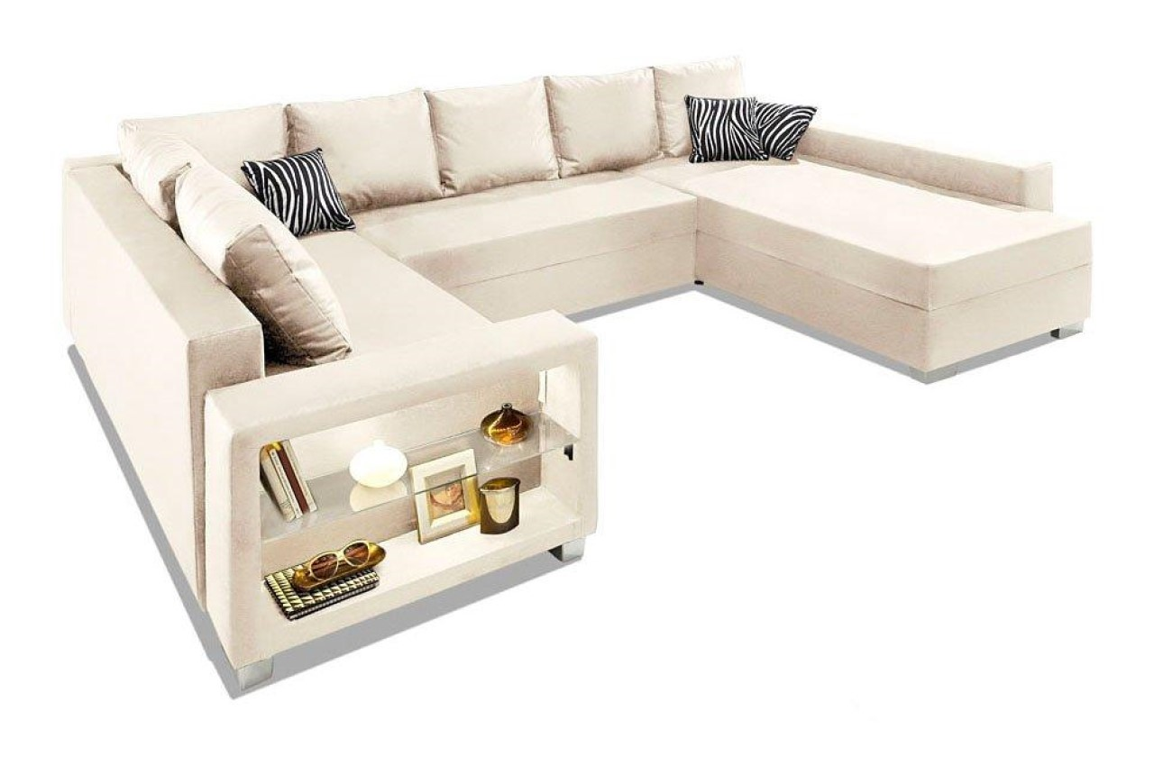 Collection Ab Wohnlandschaft Paris Xxl Creme Mit Federkern Sofas