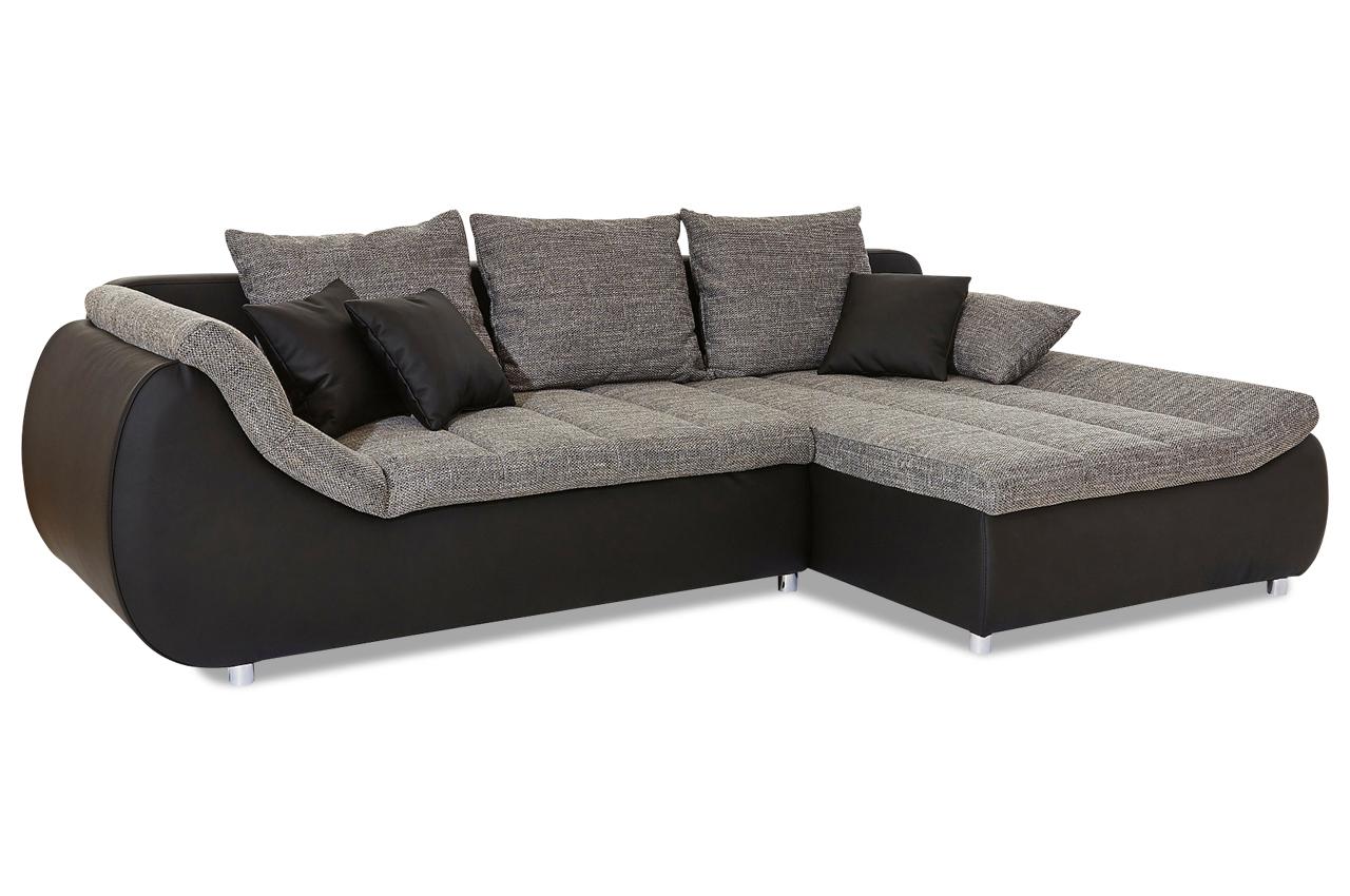 ecksofa imola mit schlaffunktion grau ecksofas. Black Bedroom Furniture Sets. Home Design Ideas