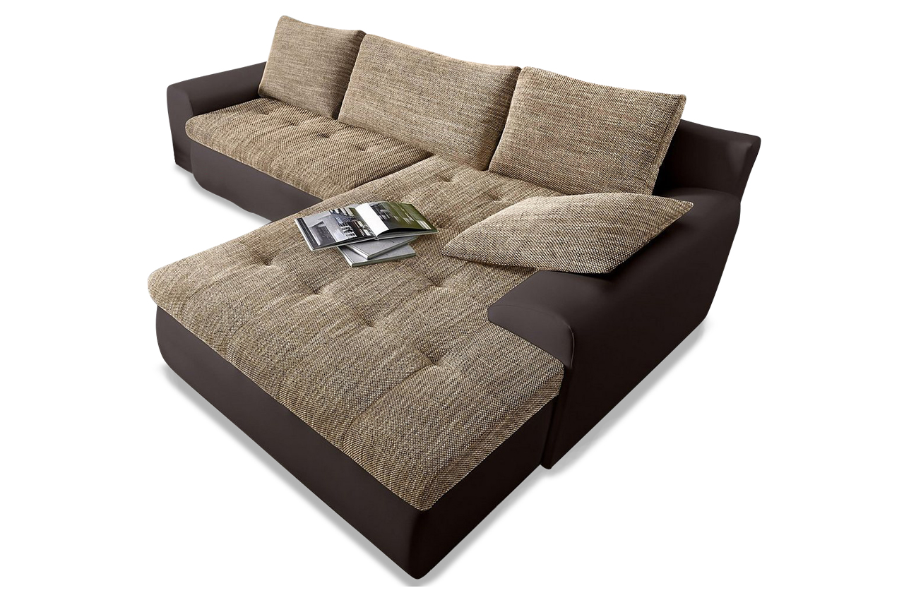 ecksofa cecile xxl mit schlaffunktion anthrazit sofas zum halben preis. Black Bedroom Furniture Sets. Home Design Ideas
