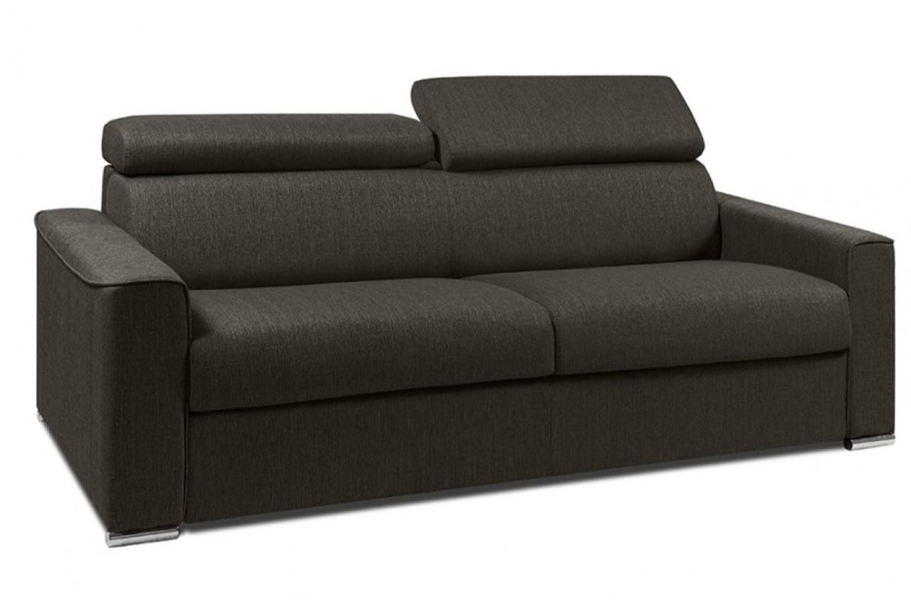 3er Sofa Vizir mit Schlaffunktion Grau
