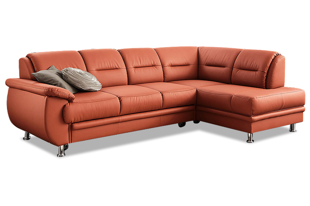 ecksofa xl mailand orange sofas zum halben preis. Black Bedroom Furniture Sets. Home Design Ideas