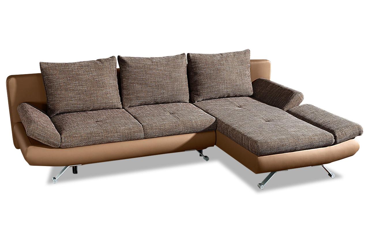 ecksofa mit schlaffunktion braun. Black Bedroom Furniture Sets. Home Design Ideas