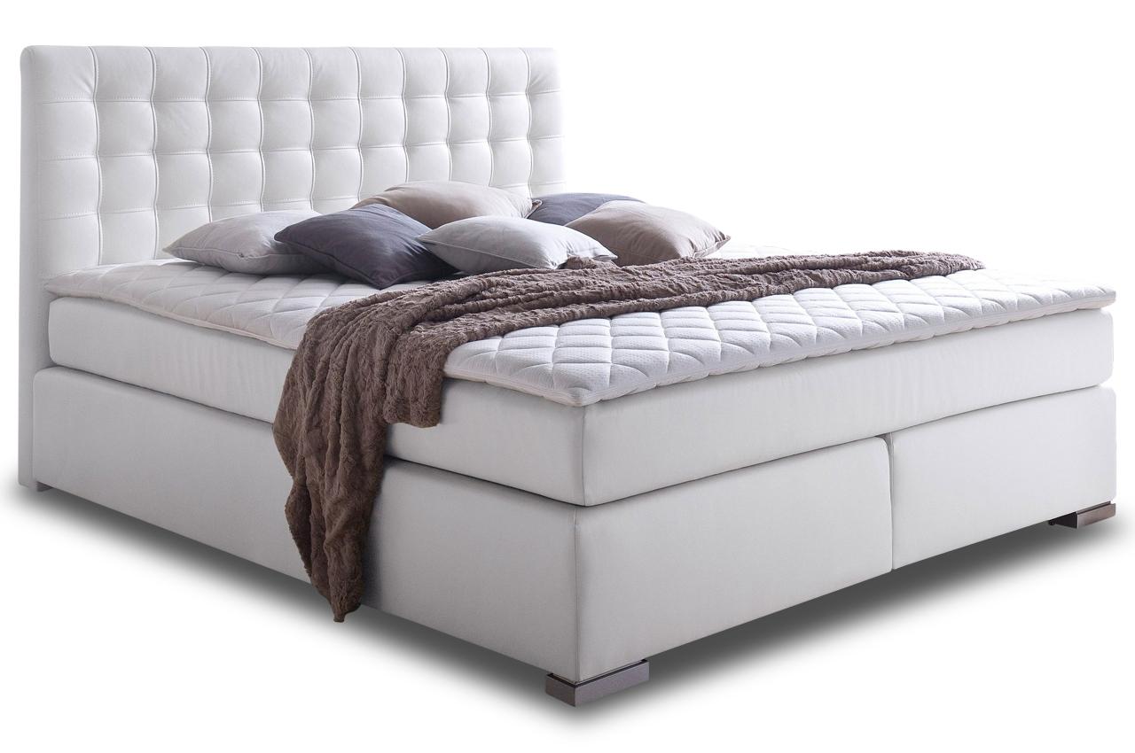aek boxspringbett 180x200 isa weiss sofas zum halben preis. Black Bedroom Furniture Sets. Home Design Ideas