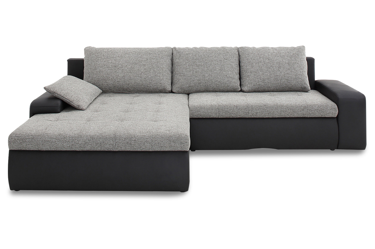 Sit more polsterecke candy xxl mit bett stoff sofa couch for Sofa bett kombination