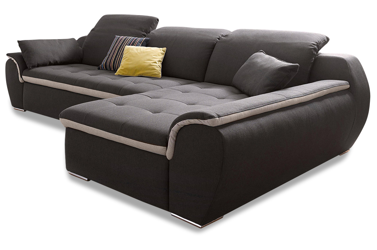 sofa team ecksofa banjo mit schlaffunktion braun sofas zum halben preis. Black Bedroom Furniture Sets. Home Design Ideas