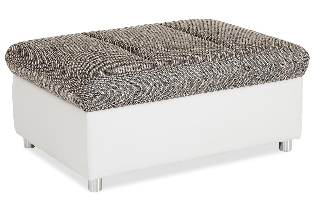 hocker grau hocker sofas zum halben preis. Black Bedroom Furniture Sets. Home Design Ideas