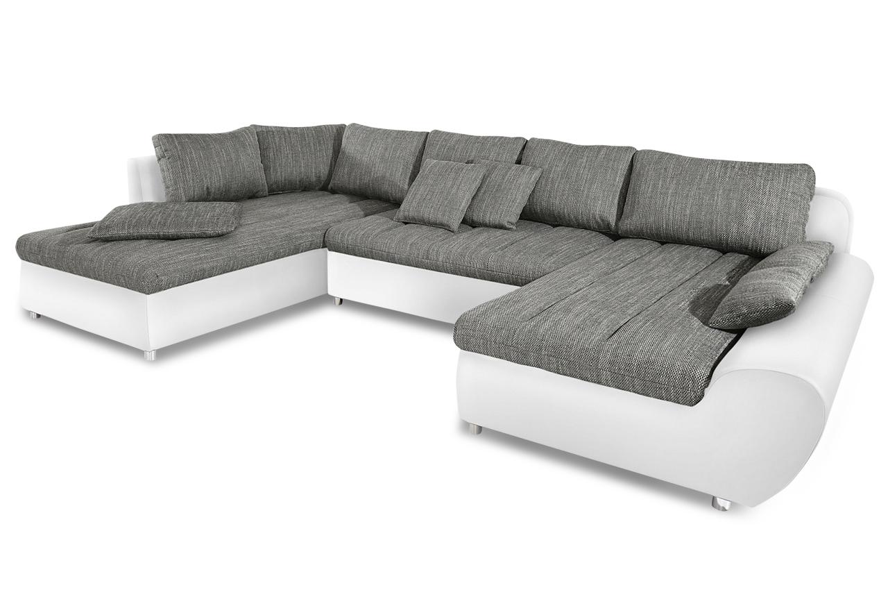 sit more wohnlandschaft bandos xxl grau sofas zum halben preis. Black Bedroom Furniture Sets. Home Design Ideas