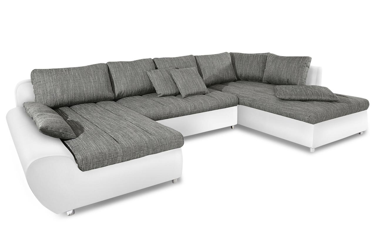 sit more wohnlandschaft bandos xl grau sofas zum halben preis. Black Bedroom Furniture Sets. Home Design Ideas