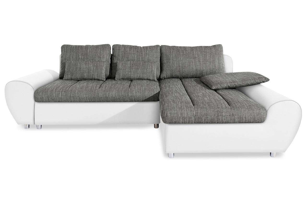 ecksofa bandos xxl anthrazit sofa couch ecksofa ebay. Black Bedroom Furniture Sets. Home Design Ideas